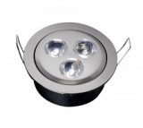 Fire Rated 3 x 3W LED Directional Downlight (White)